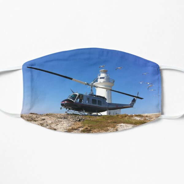 South Solitary Island - Huey Helicopter Flat Mask