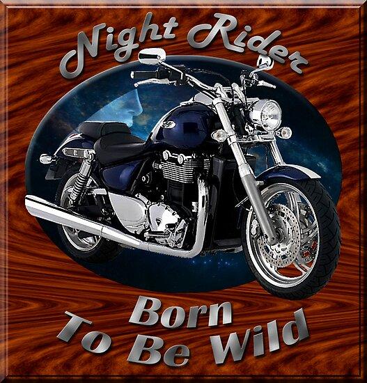 Triumph Thunderbird Night Rider by hotcarshirts