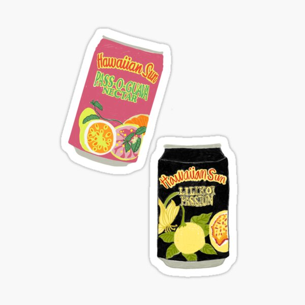Hawaii's Favorite Juice Sticker