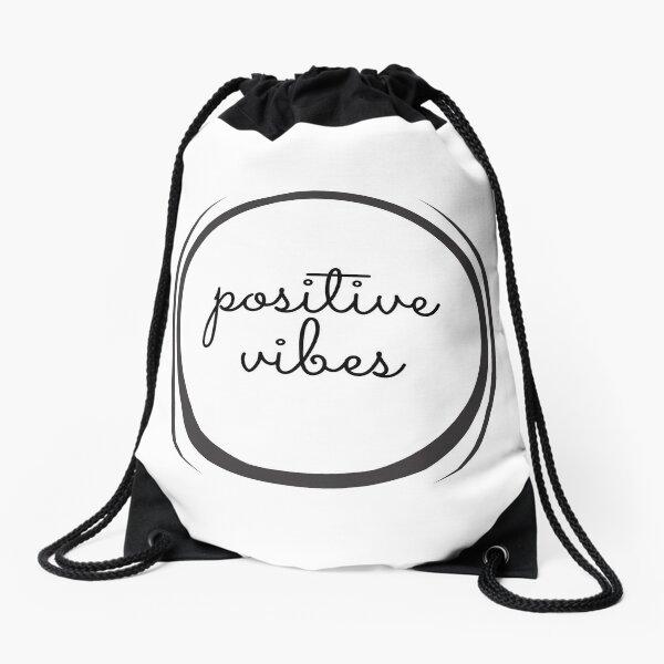 Positive Vibes Classic Drawstring Bag