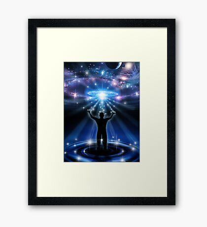 Star Water Framed Print