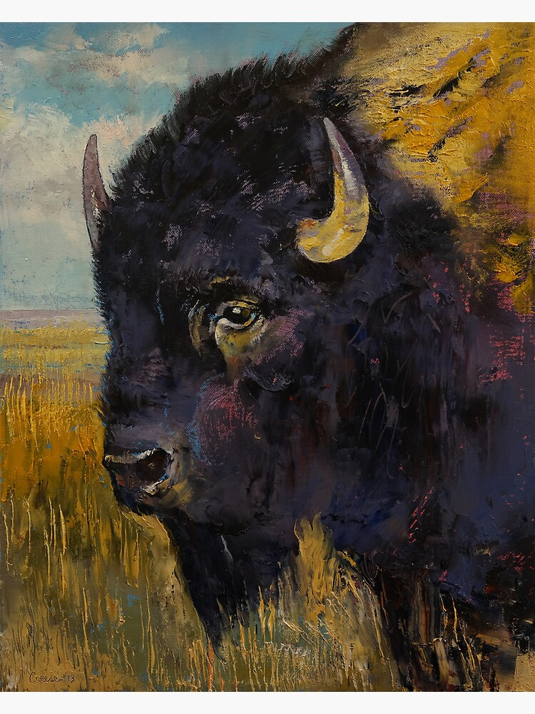 Bison by michaelcreese