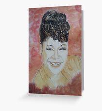 Ella Fitzgerald Greeting Card