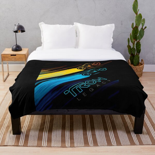 Tron Lightcycles Throw Blanket