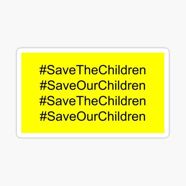 #SaveTheChildren Sticker