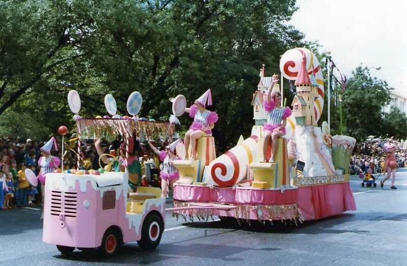 Quot No 2 Candy Cane Float 1980 S Adelaide Christmas Pageant