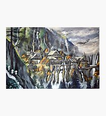 Kodamas at Rivendell... Photographic Print