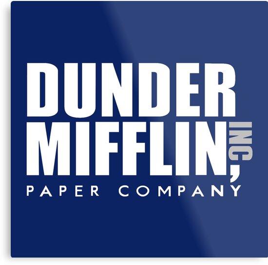 Dunder Mifflin Logo by pickledbeets