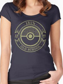 151% Old School Women's Fitted Scoop T-Shirt