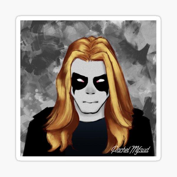 Per Yngve Ohlin Dead Mayhem Sticker