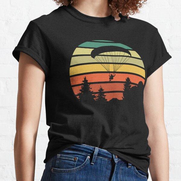 COUCHER DE SOLEIL PARAPENTE T-shirt classique