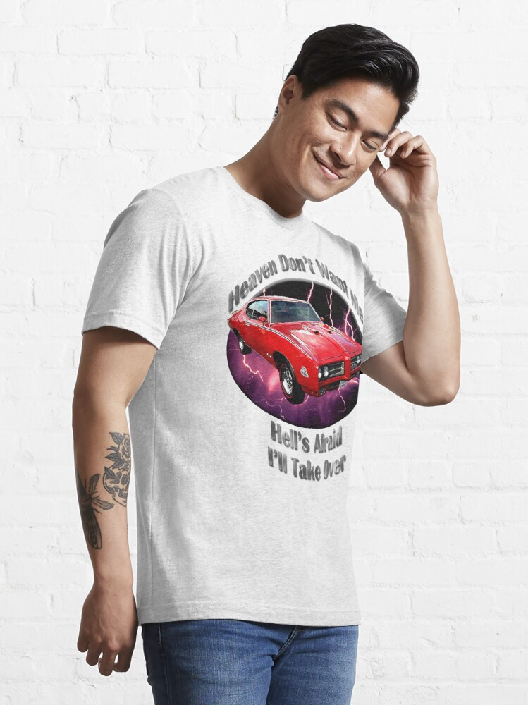 Alternate view of Pontiac GTO Heaven Don't Want Me Essential T-Shirt