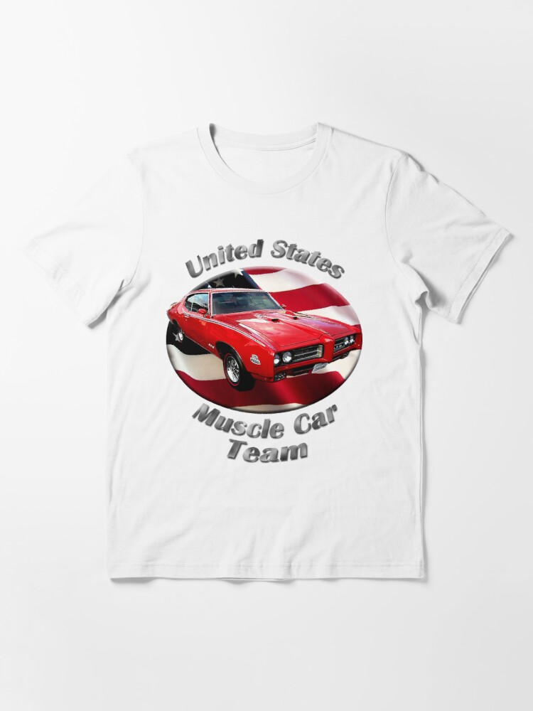 Alternate view of Pontiac GTO Muscle Car Team Essential T-Shirt