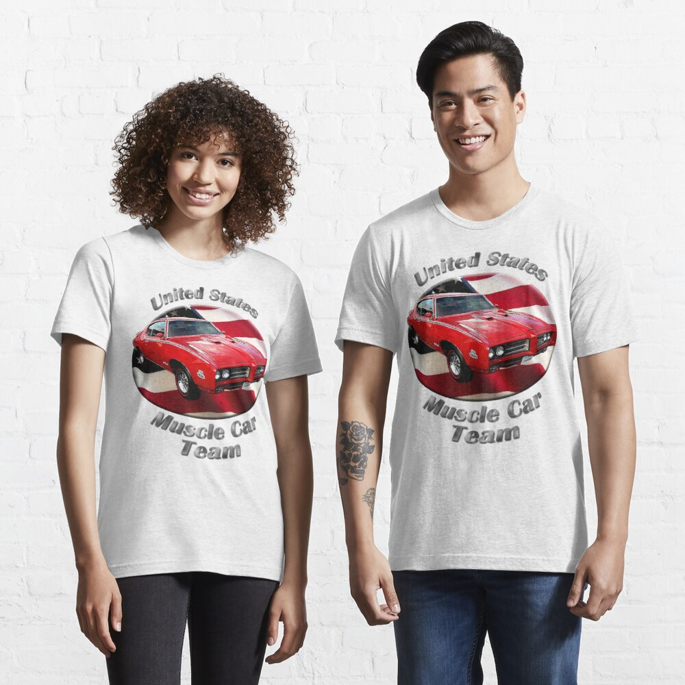 Pontiac GTO Muscle Car Team Essential T-Shirt