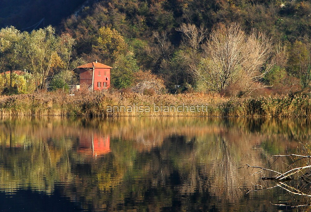 The Red House by annalisa bianchetti