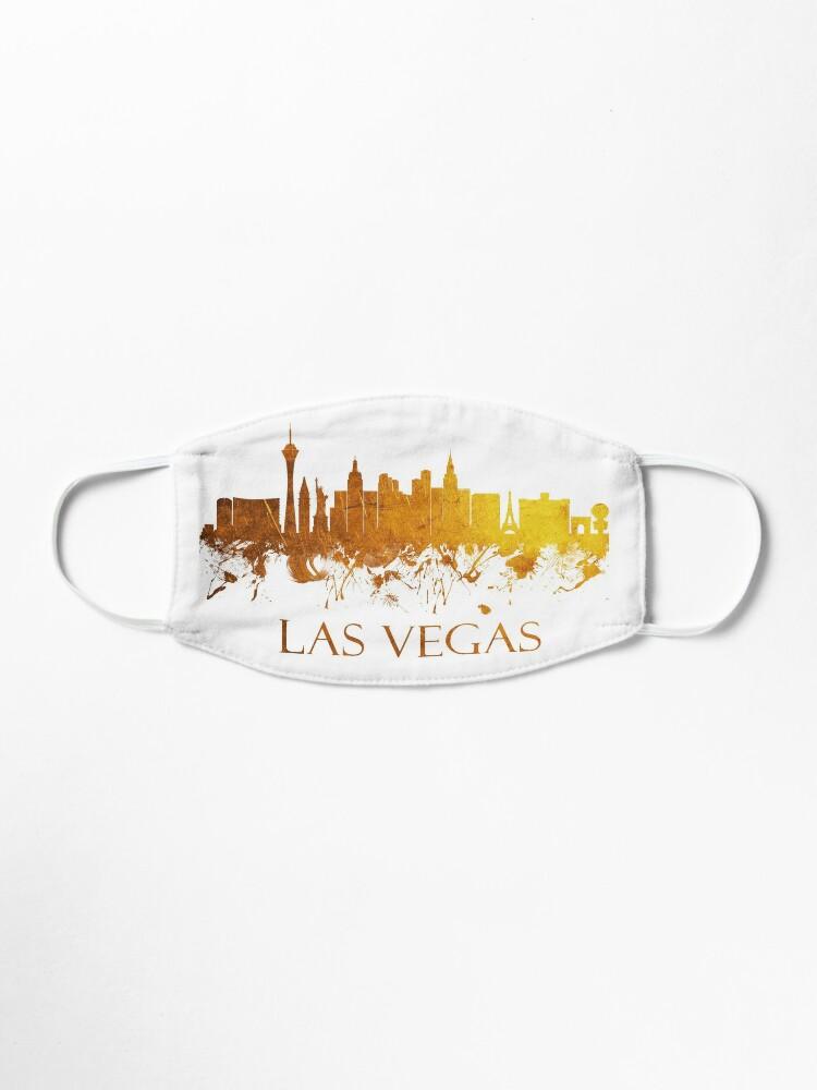 Alternate view of Las Vegas Nevada Skyline - 38 Mask