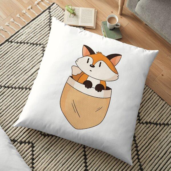 POCKET FOX Floor Pillow
