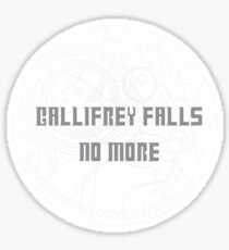 Gallifrey Falls No More Sticker