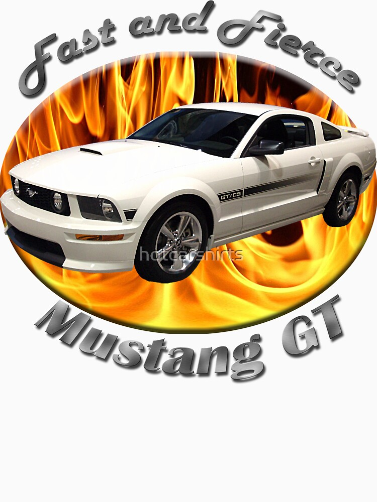 Ford Mustang GT Fast and Fierce by hotcarshirts