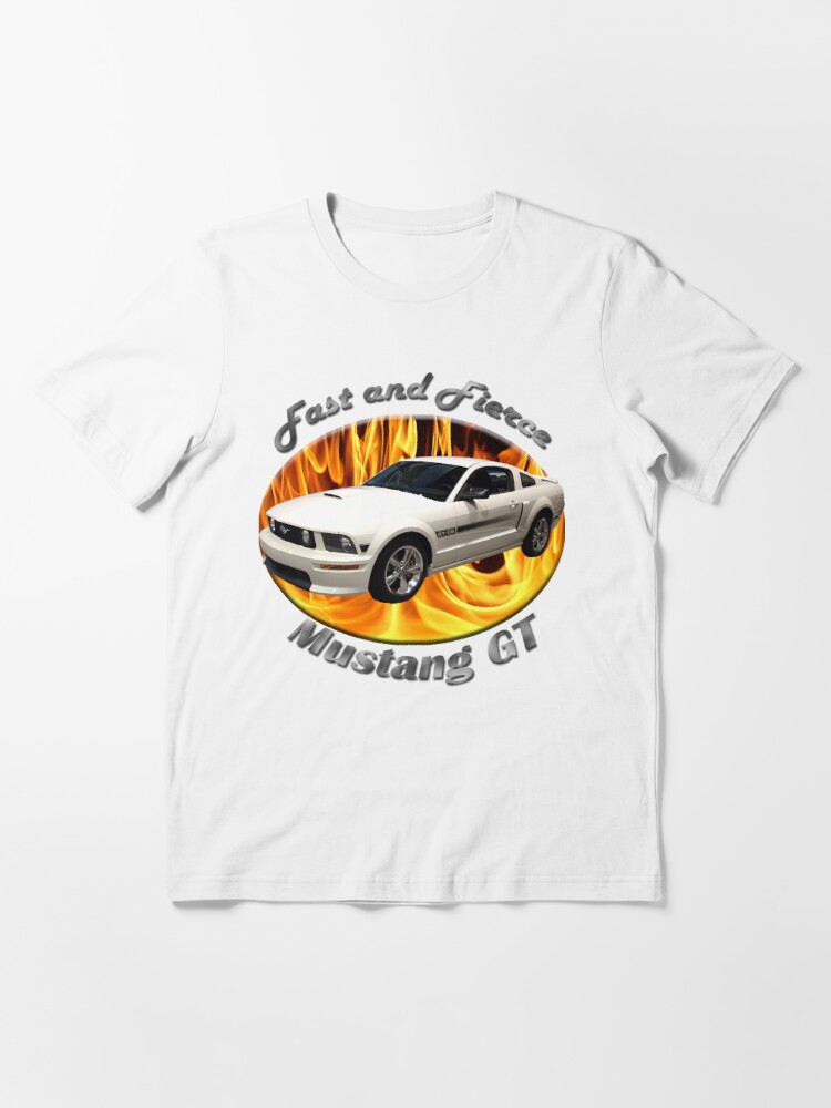 Alternate view of Ford Mustang GT Fast and Fierce Essential T-Shirt