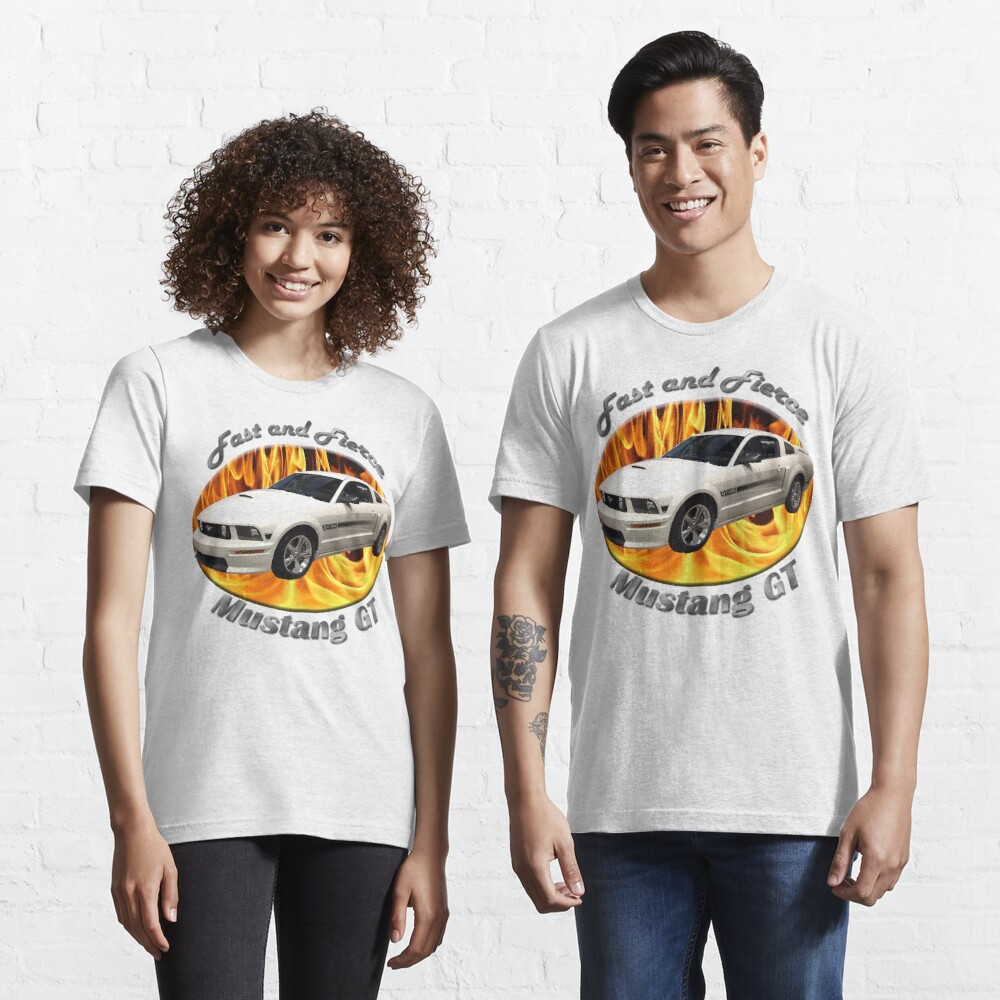 Ford Mustang GT Fast and Fierce Essential T-Shirt