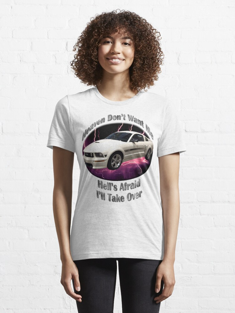Alternate view of Ford Mustang GT Heaven Don't Want Me Essential T-Shirt