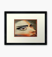 Chalk Portraits ~ Part Six Framed Print