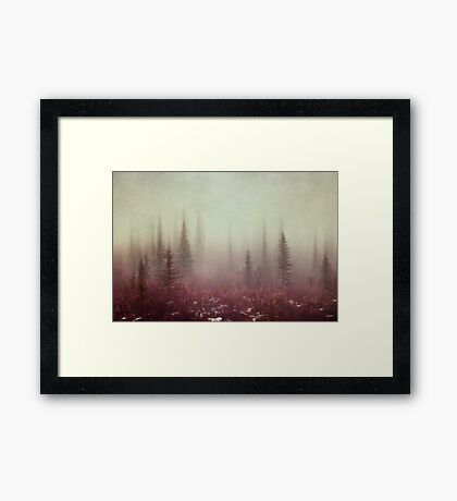 Hazy Days Framed Print