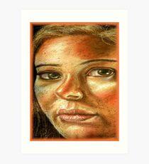 Chalk Portraits ~ Part Twelve Art Print