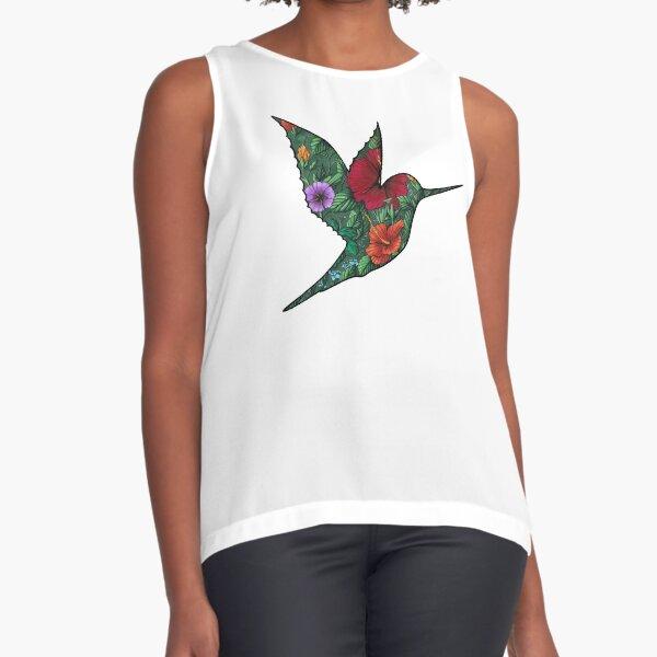 #saveourplanet for the hummingbirds Sleeveless Top