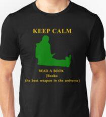 KEEP CALM & read a book T-Shirt