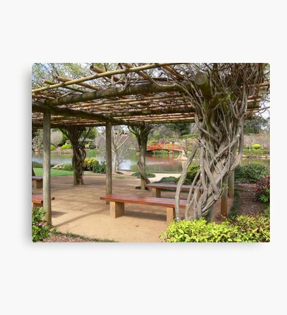 Japanese Gardens, Toowoomba  Canvas Print
