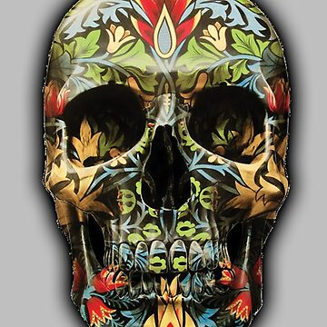 Tribal Skull by TheFoxFromHell
