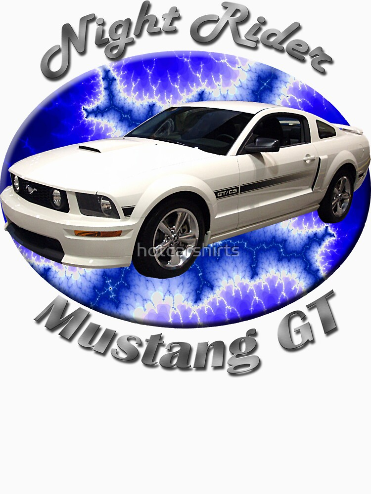 Ford Mustang GT Night Rider by hotcarshirts