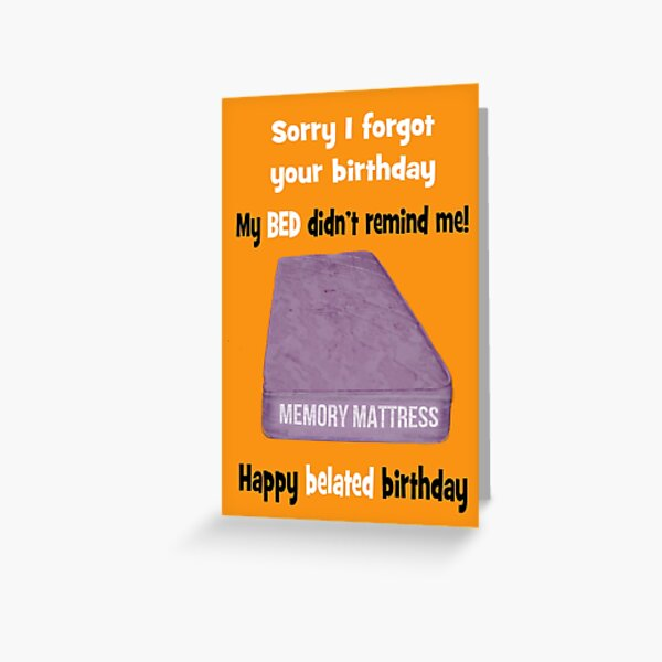 Belated Birthday Gifts Merchandise Redbubble