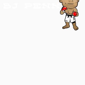 Bj Penn Big Head MMA  by tecmoviking