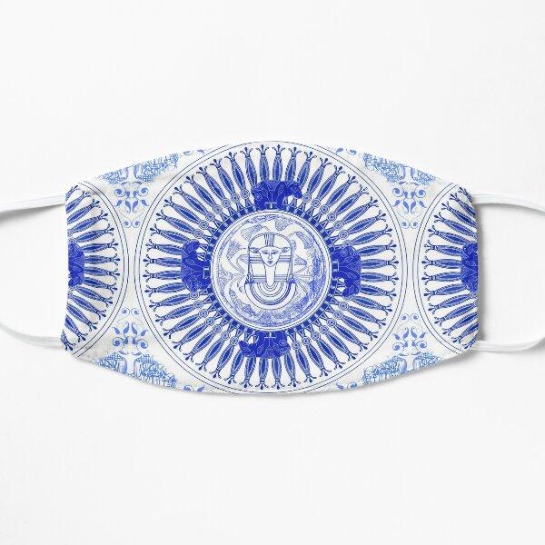 Egyptian Blue and White Hathor (SPODE INSPIRED) Mask