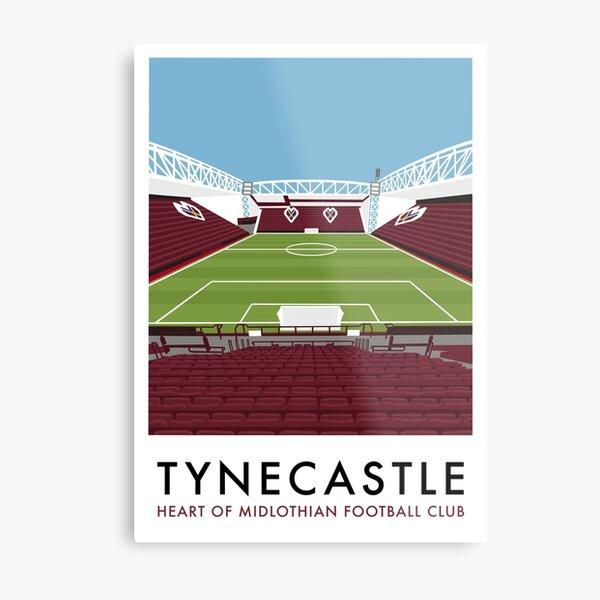 Hearts Tynecastle  Metal Print