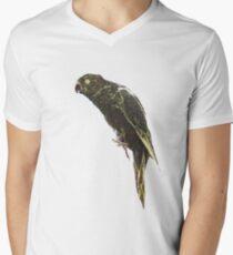 Green Parrot DW Men's V-Neck T-Shirt