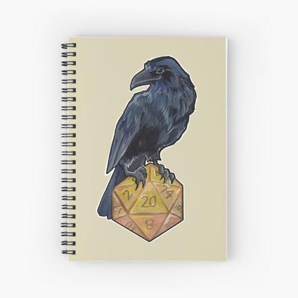 Raven d20 Spiral Notebook