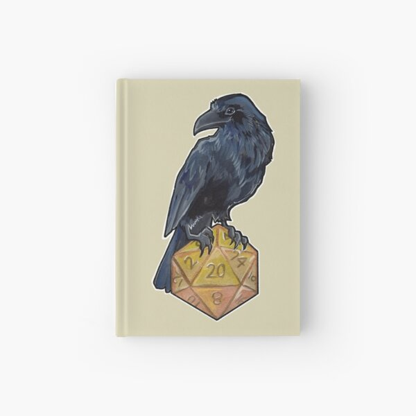 Raven d20 Hardcover Journal