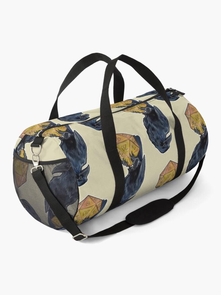 Alternate view of Raven d20 Duffle Bag