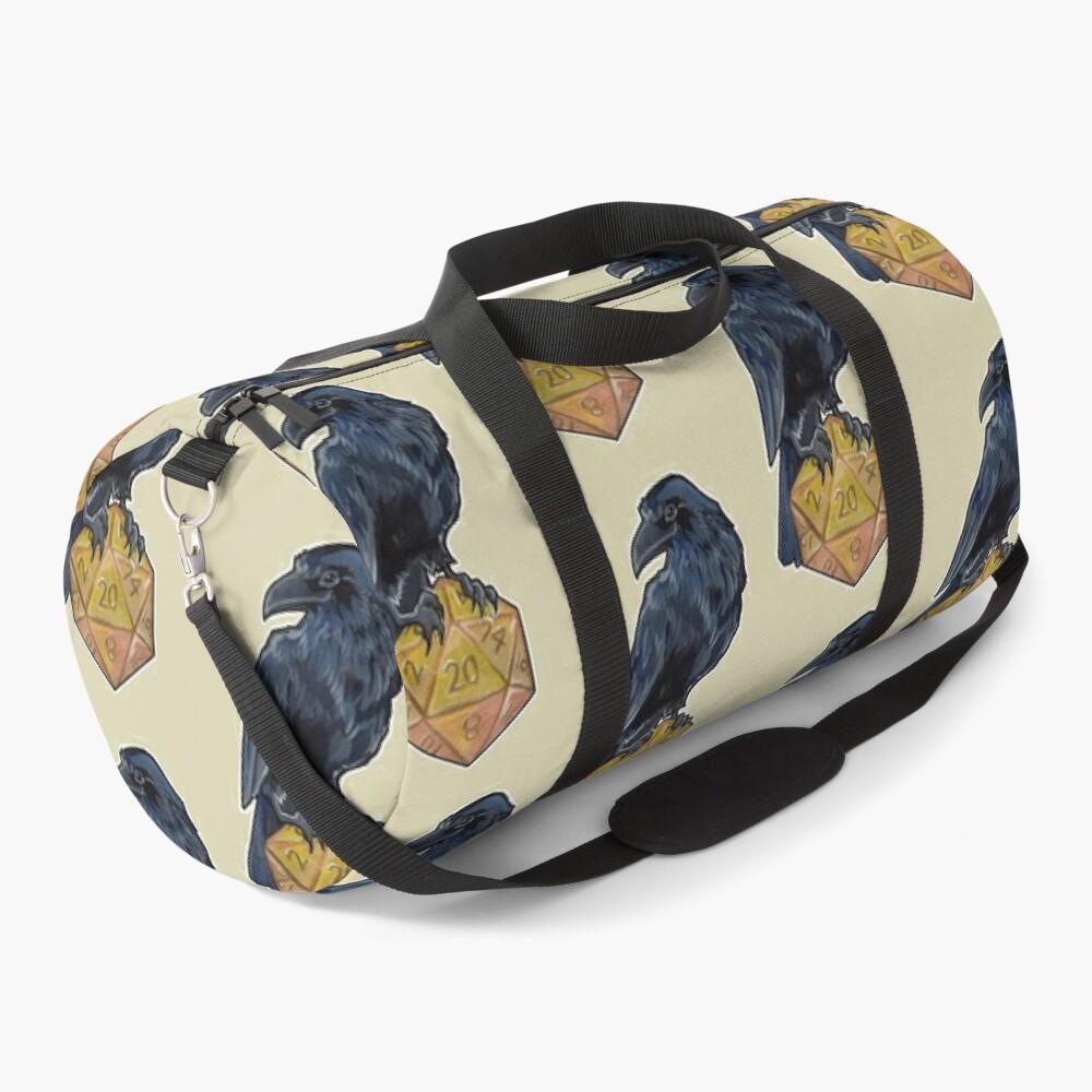 Raven d20 Duffle Bag