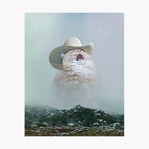 Screaming Cowboy Meme Photographic Prints   Redbubble