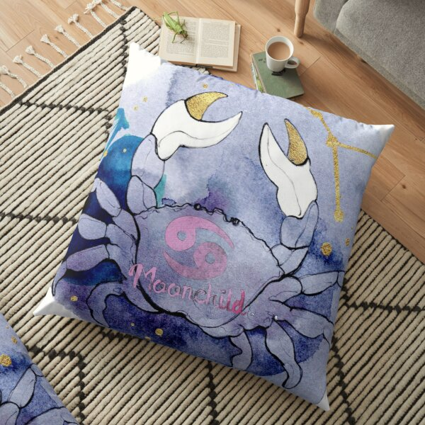 Cancer Zodiac Floor Pillow