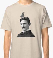 Tesla & Pigeon Classic T-Shirt