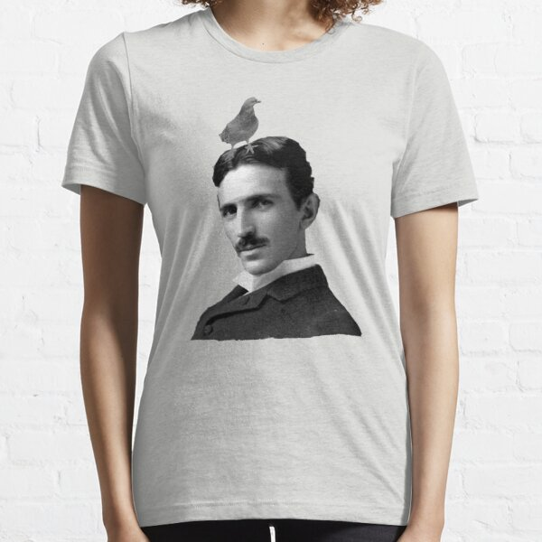 Tesla & Pigeon Essential T-Shirt