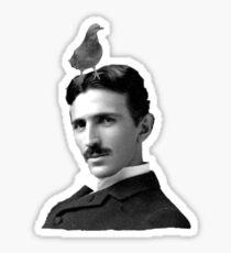 Tesla & Pigeon Sticker