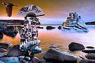 Yakimoto's Sandcastle. by Andy Nawroski