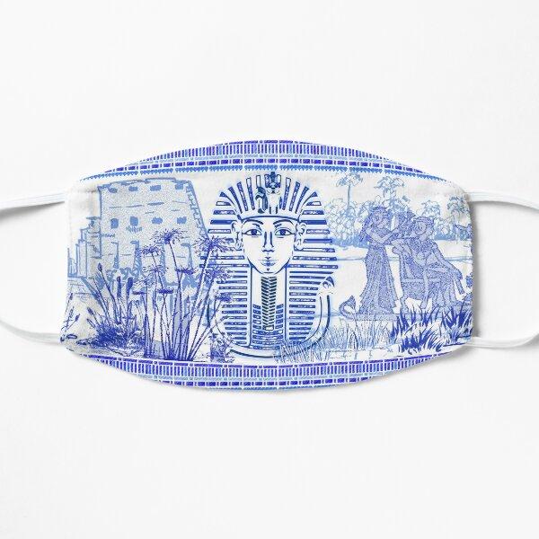 Egyptian Blue and White King Tut (SPODE INSPIRED) Mask